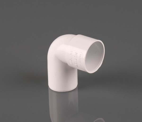 Solvent Weld 32mm White 92.5\' Spigot Elbow