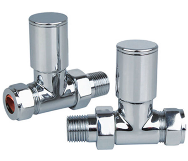 Capo All Chrome Radiator Valves
