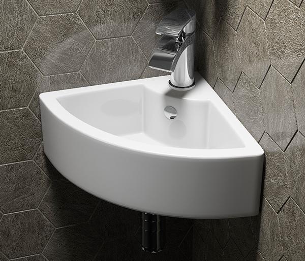 Cloakroom Corner Basin 330mm