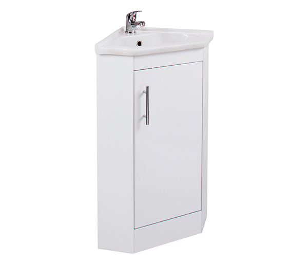 Kass Corner Basin Unit White Gloss