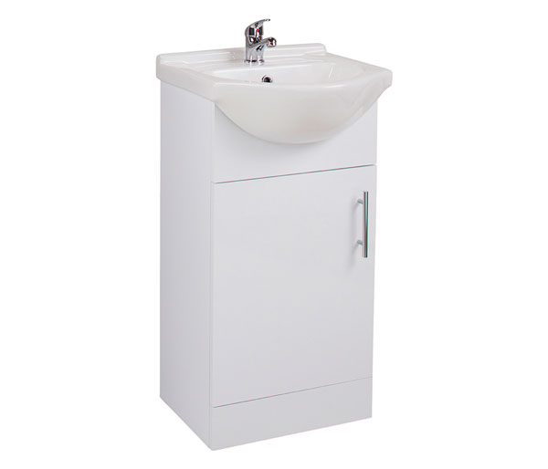 Kass 450mm Cloakroom Basin Unit