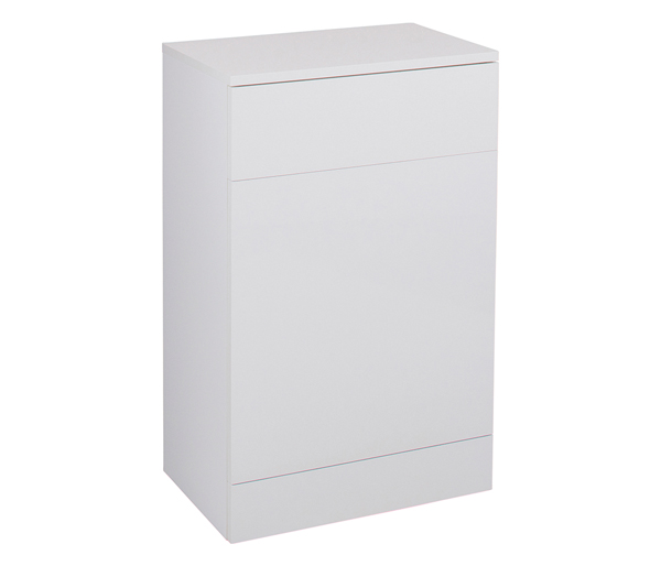 Kass 500mm WC Unit White Gloss