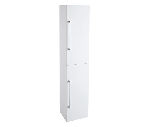 Idon 300mm Tall Storage Unit White Gloss