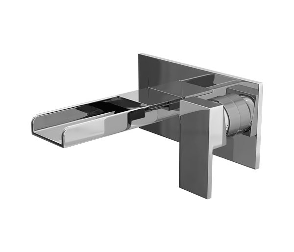 Dunk Waterfall Spout Wall Mounted Bath Filler