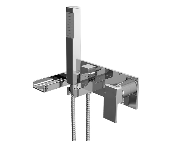 Dunk Wall Mounted Bath Shower Mixer
