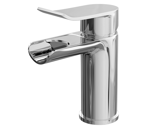 Lou  Basin Mixer and Waterfall Spout