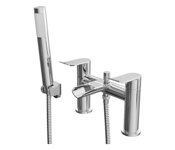 Lou Bath Shower Mixer and Waterfall Spout