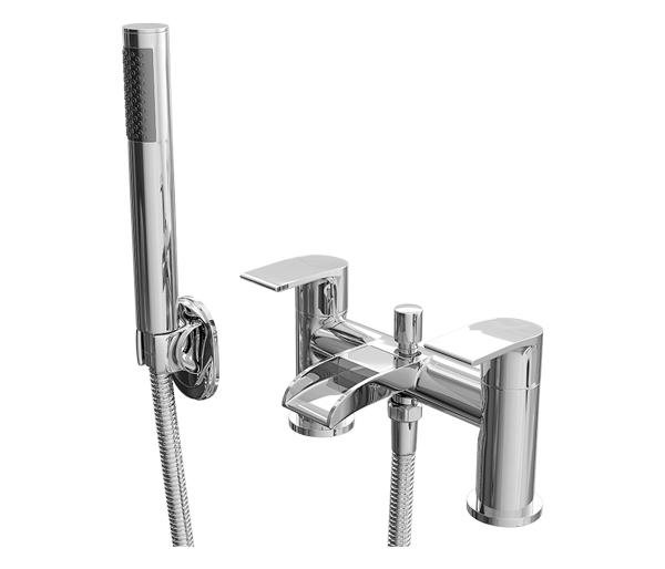 Vigo Bath Shower Mixer and Waterfall Spout