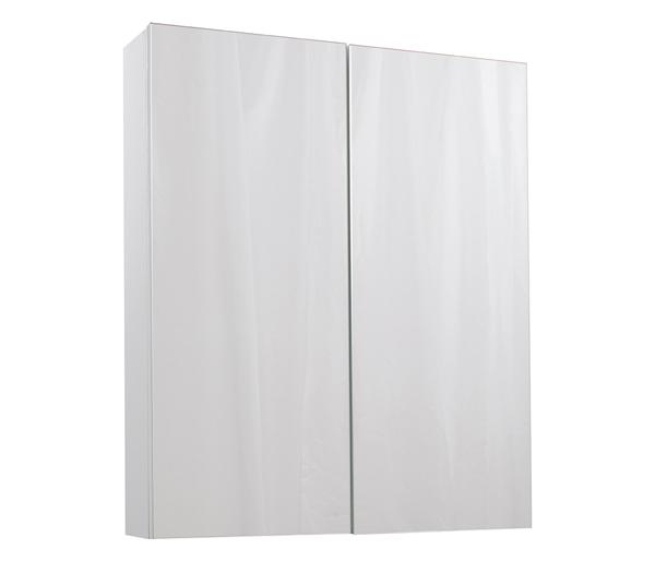 Idon 600 Mirror Wall Unit White Gloss