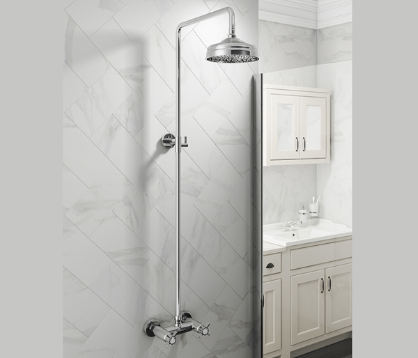Buxton Traditional Shower Set