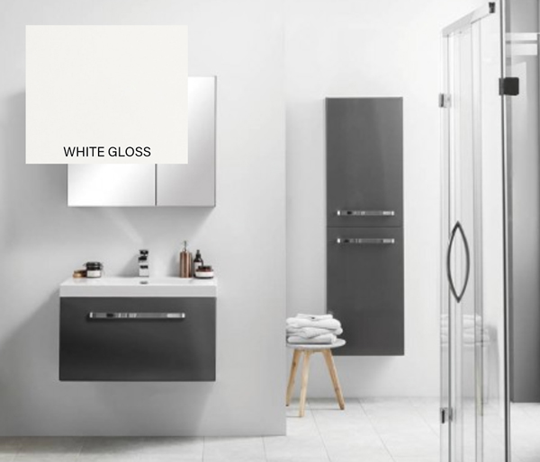 Eko Groove Vanity Unit 750x470 White Gloss