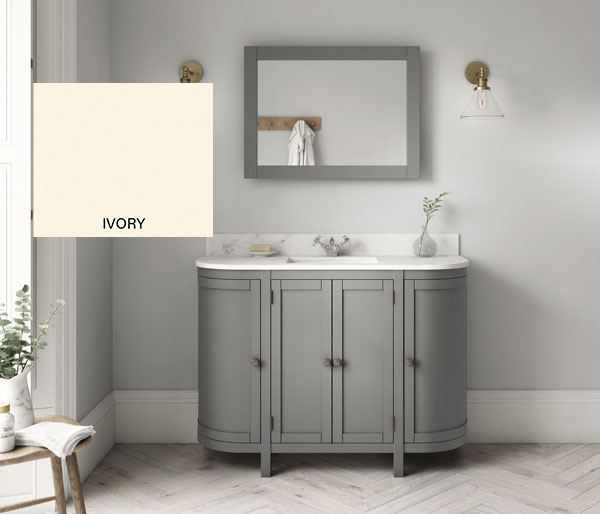 Etienne Basin & Unit 1200 Ivory/Ice RH