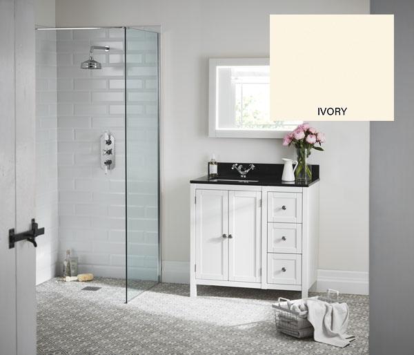 Etienne Vanity Unit 900x460 Ivory/Ice