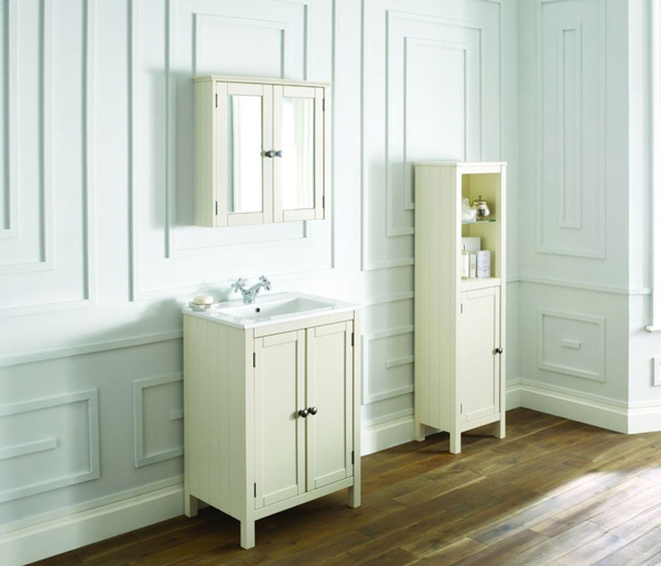 Etienne Mirror Wall Unit 641x153 Ivory