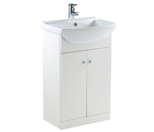 Ikoma Vanity Unit 550x415 White Gloss
