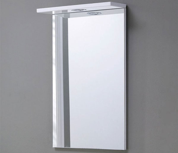 Ikoma Mirror 450x700mm White Gloss