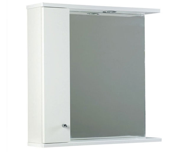 Ikoma Mirror 650x170x700 White Gloss
