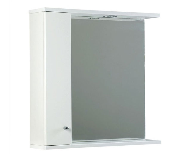 Ikoma Mirror 750x170x700 White Gloss