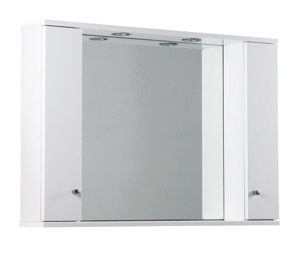Ikoma Mirror 1050x170x700 White Gloss