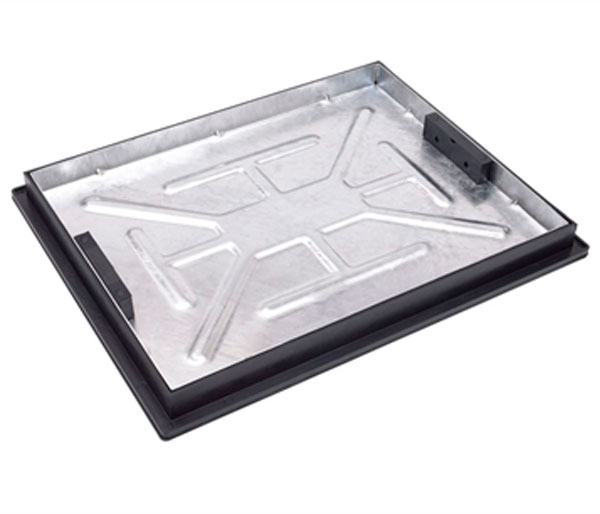 Recessed Paving Lid 600x450x65mm 50mm Block