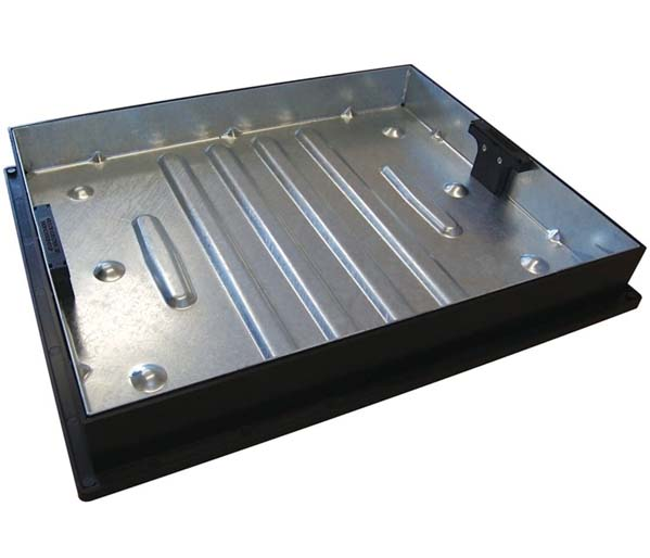 Recessed Paving Lid 600x450x80mm 65mm Block