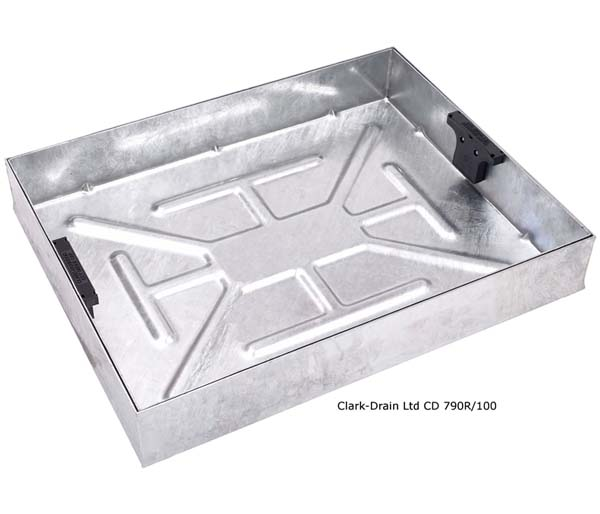 Recessed Paving Lid 600x450x100mm 80mm Block