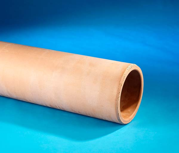 Clay Drain 100mm 1.75m Pipe Plain Ended