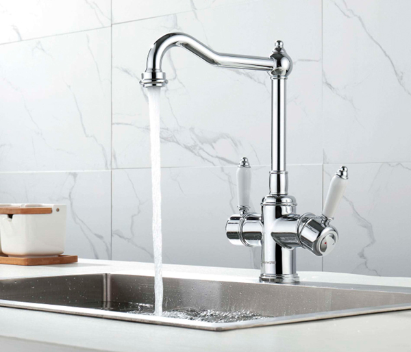 Cassini Cold Filter Kitchen Tap Chrome