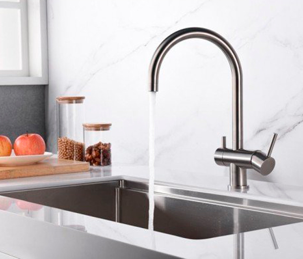 Aquarius Cold Filter Kitchen Tap Chrome