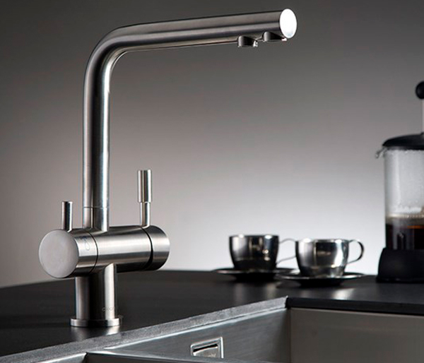 Zuben Cold Filter Kitchen Tap Stainless Steel