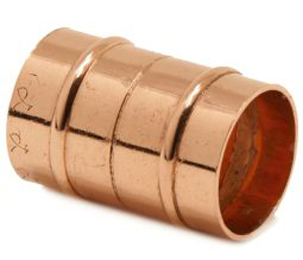 Solder Ring Straight Coupling 28mm