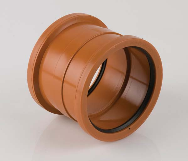 Underground 110mm Double Socket Coupling