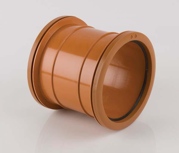 Underground 110mm Double Slip Socket Coupling