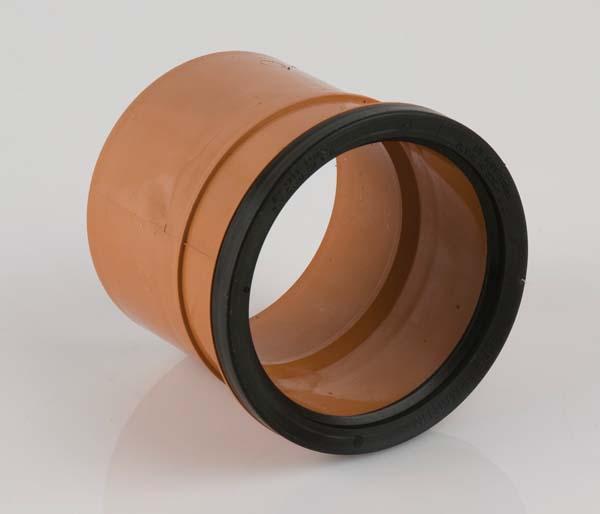 Underground 110mm Single Socket Coupling