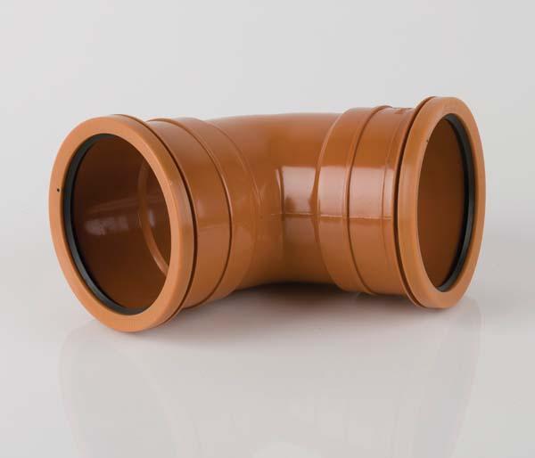 Underground 110mm Double Socket 67.5\' Bend
