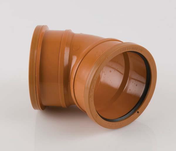 Underground 110mm Double Socket 45\' Bend