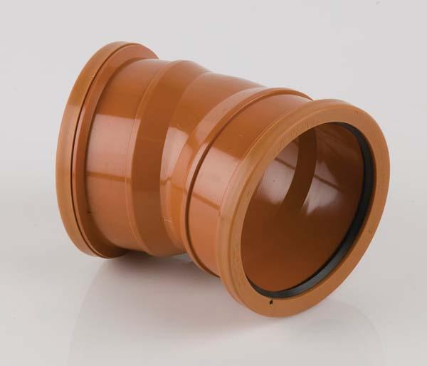 Underground 110mm Double Socket 22.5\' Bend