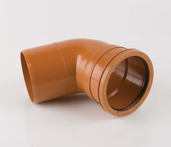 Underground 110mm Single Socket 67.5\' Bend