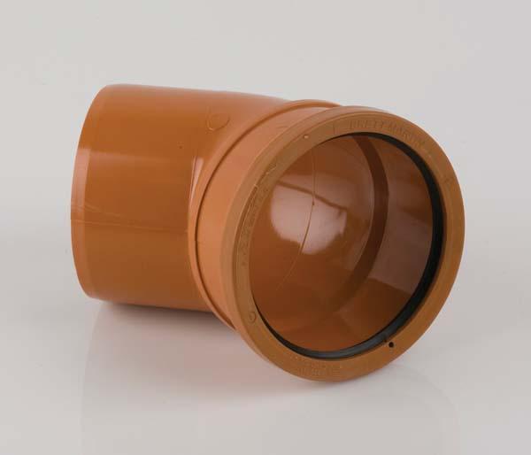 Underground 110mm Single Socket 45\' Bend
