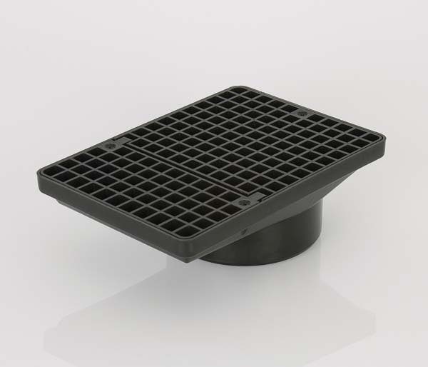 Underground 110mm Spare Rectangle Gully Grid