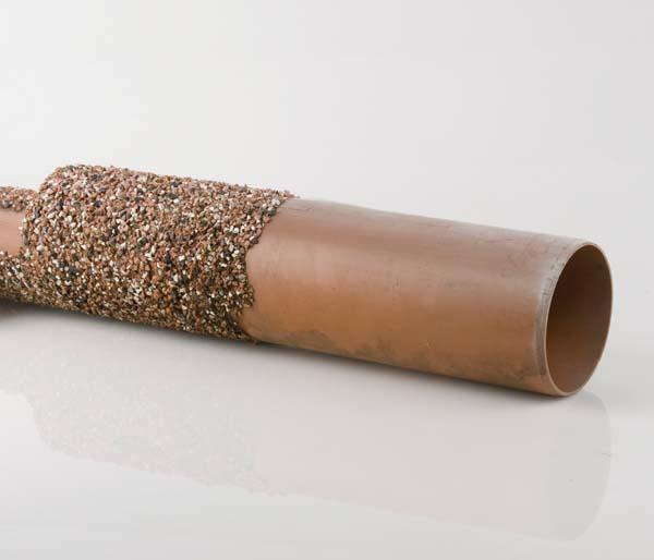 Underground 110mm 1.5m Plain End Channel Pipe