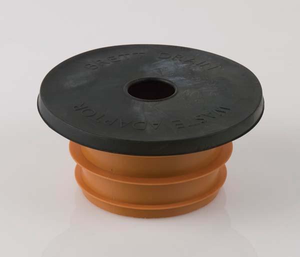 Underground 110mm Universal Adaptor To Pipe