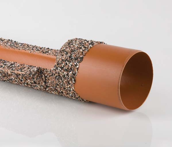 Underground 160mm 1.5m Plain End Channel Pipe
