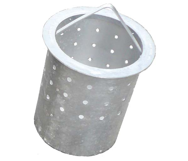 Yard Gully \\Aluminium Silt Bucket