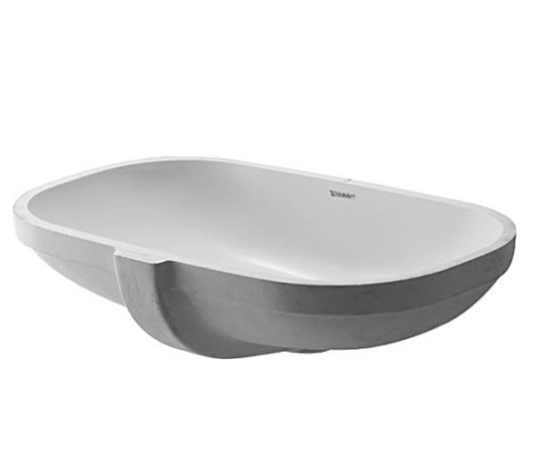 Duravit D-Code Under Mount Basin W495xD290mm