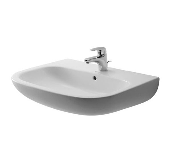 Duravit D-Code Wall Mounted Basin W650xD555mm