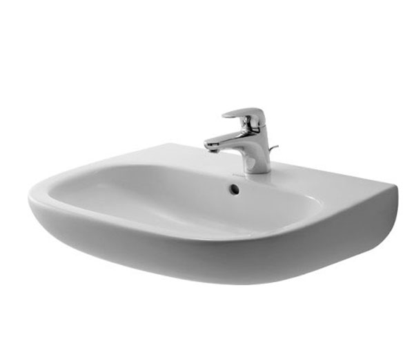 Duravit D-Code Wall Mounted Basin W600xD500mm