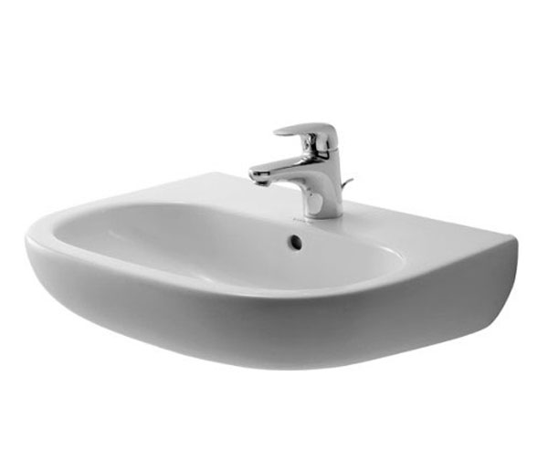 Duravit D-Code Wall Mounted Basin W550xD430mm