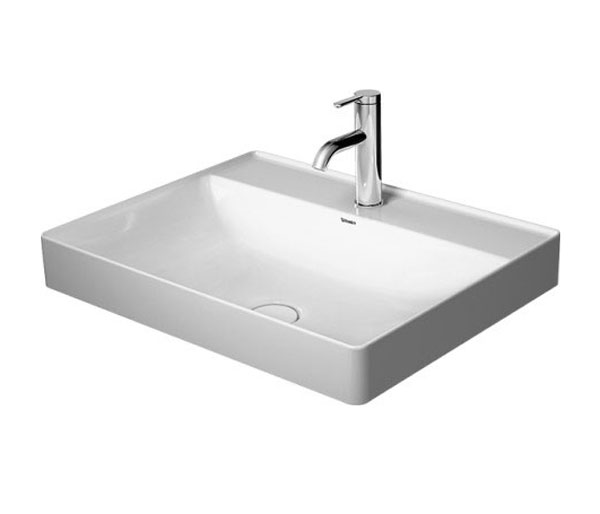 Duravit Durasquare Countertop W600xD470mm 1th