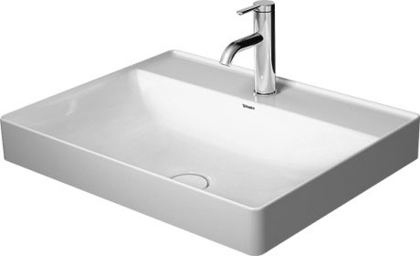 Duravit Durasquare Countertop W600xD470mm 0th